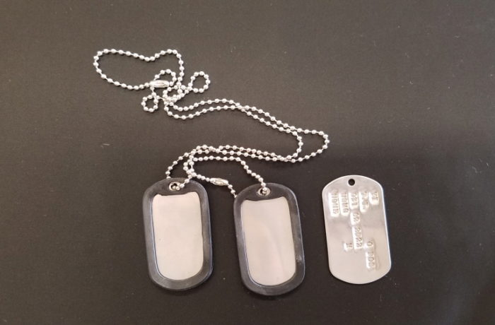 MILITARY ID TAGS(DOG TAGS)