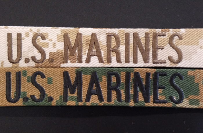 UNIFORM NAME TAPES(W/ or W/O VELCRO)