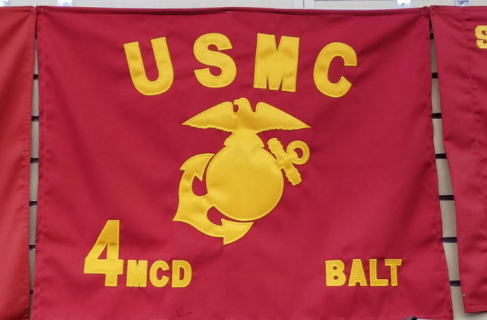 USMC REGULATION SIZED GUIDON